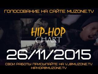 HIP-HOP CHART на MUZZONE, 26/11/2015