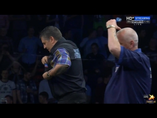Gary Anderson vs Robert Thornton (2016 Premier League Darts / Week 14)