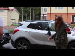 [нетипичная махачкала] девушка перепутала машину своего бывшего
