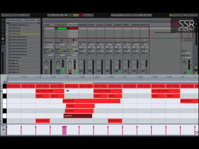 Создание HOUSE ритм секции