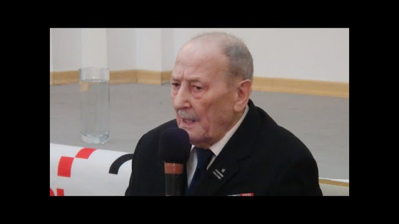 Spotkanie z Marianem Pawełczakiem ps. Morwa, żołnierzem Zapory