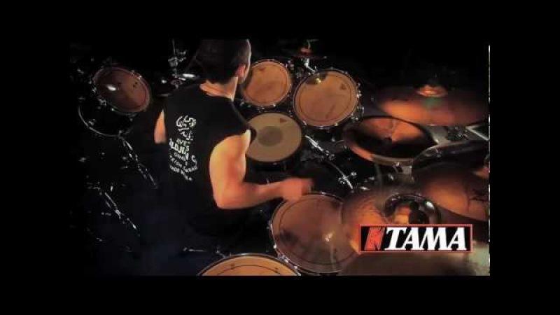 4ARM - Submission For Liberty - Michael Vafiotis Drum Cam (TAMA Drums)