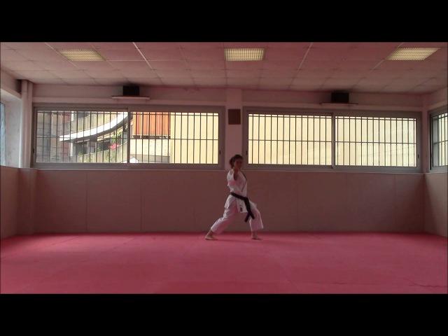 Kanku Daï Karate Training Sonia Fiuza