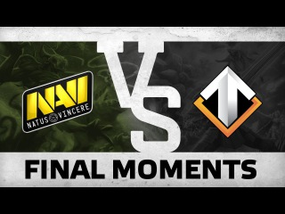 WATCH FIRST: Final Moments by Na`Vi vs Escape @ The International 6