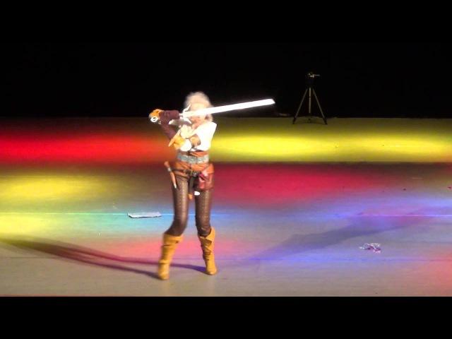 2016 Косплеер Sawaka Ведьмак 3 Дикая Охота
