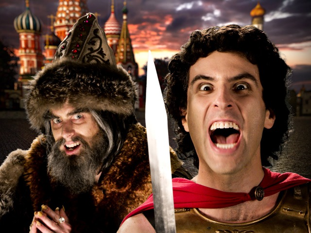 Alexander the Great vs Ivan the Terrible Epic Rap Battles of History