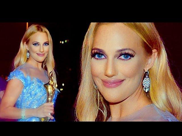 Meryem Uzerli Beyrut BİAF Ödül Töreninde Göz Kamaştırdı Мерьем Узерли