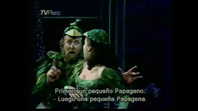 Pa pa pa pa Duo Papageno y Papagena