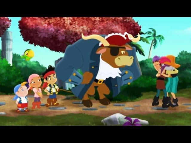 Джейк и пираты Нетландии Капитан Базард спешит на помощь Крокастрофа Серия 31 Сезон 3