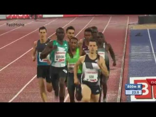 Men's 800m - Stockholm Diamond League 2016 HD