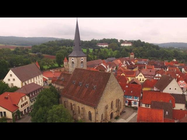 Seßlach von oben ANTENNE BAYERN Bayern von oben