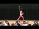 Mariah Moore Fillipino Martial Arts Demo Onaway High School