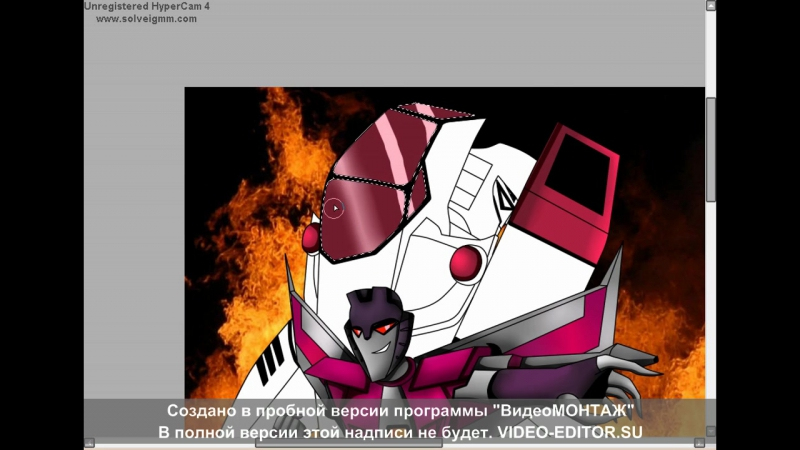 Speedpaint Megatron and Starscream by AnnaF