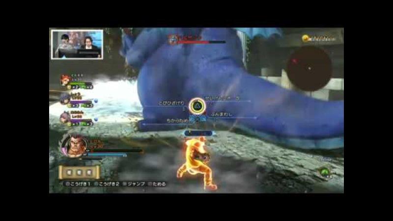 ドラゴンクエストヒーローズII Dragon Quest Heroes II Multiplayer Footage Hero Bonus DLC Costum DH I