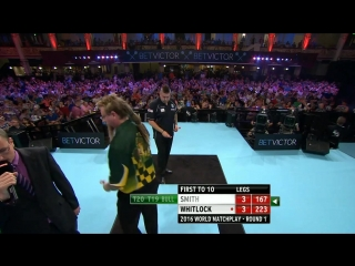 Michael Smith v Simon Whitlock (PDC World Matchplay 2016 / Round 1)