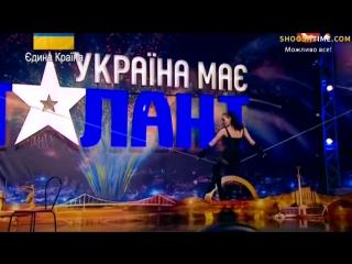 Украина мае талант или чудеса равновесия от красотки.