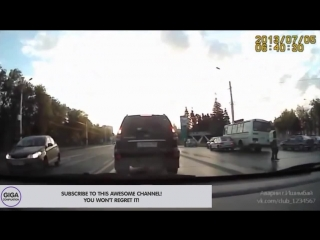Russian Road Rage Car Crash HD Compilation July 2013 [new, dash cam, accidents, speed]