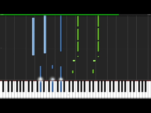 Theme of King J.J. - Yuri on Ice [Piano Tutorial] (Synthesia) PianoPrinceOfAnime » Freewka.com - Смотреть онлайн в хорощем качестве