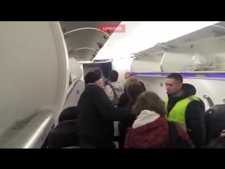 """Пассажиры рейса """"москва — тбилиси"""" отказались ссаживать пьяного товарища"""