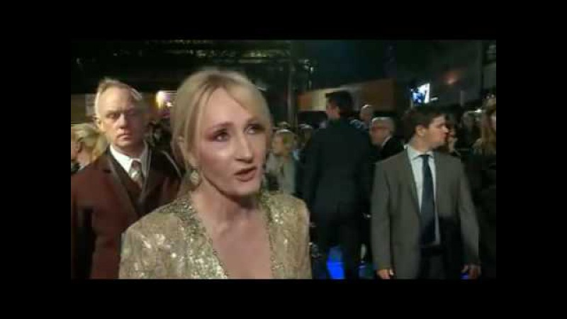JK Rowling at Fantastic Beasts premiere 'It was an accident'