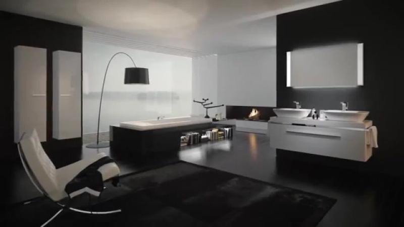 Современный дизайн ванной комнаты Keramag Design