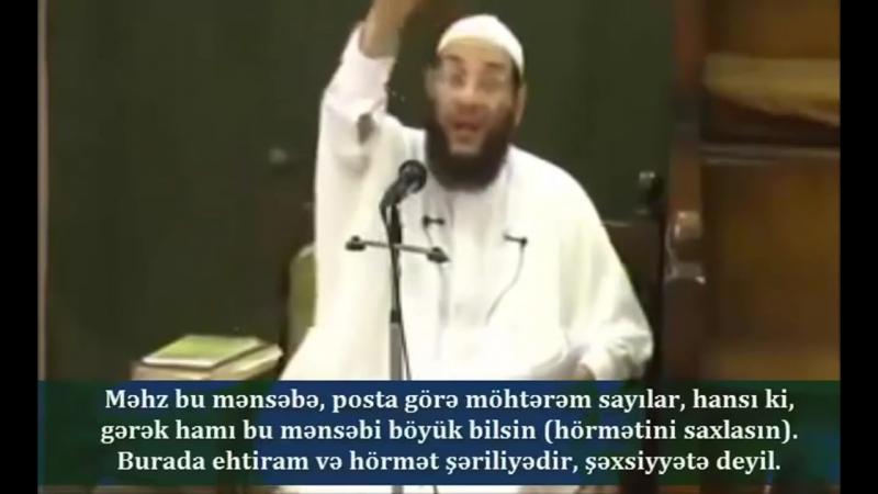 Sələfi əqidəsi- Yezid saleh şəxsdir və İmam Hüseynin (ə) qiyamı haram hərəkatdır!