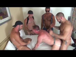 [rawfuckclub]  hans berlin gets gang banged #gay #porn #bareback #gangbang #hard #creampie