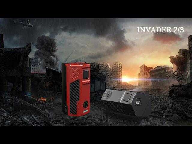 Обзор Tesla Invader 2 3 мощный боксмод с ярким дизайном