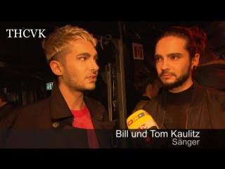RТL: Interview with Kaulitz Twins at Young Icons Awards -  (2)