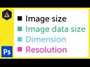 Image size, Dimension, Resolution in Adobe Photoshop Ep4/33 [Adobe Photoshop for Beginners]