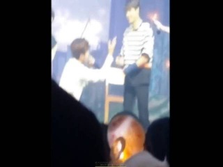 [FANCAM] 160806 Infinite That Summer 3 Concert DAY 4- L confess to Woohyun in White confession