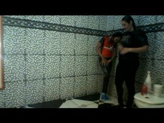 GLEICE E ELIANA-DESAFIO DO BANHO VESTIDO-DESAFIO PELA KATE SMILE