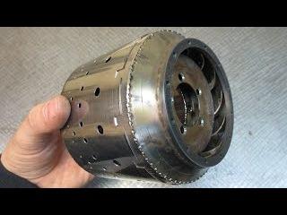 Мини ТРД - Как сделать Жаровую трубу - Homemade jet engine - Flame tube