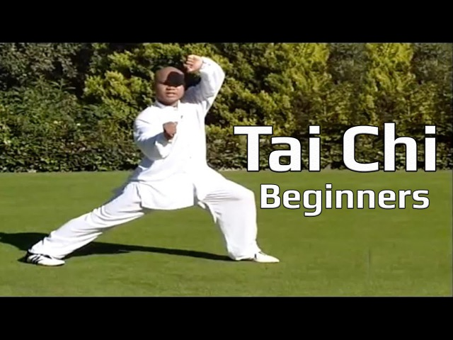Tai chi chuan for beginners Taiji Yang Style form Lesson 8