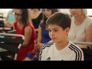 Встреча заместителя губернатора с юными футболистами Реал МаДрид