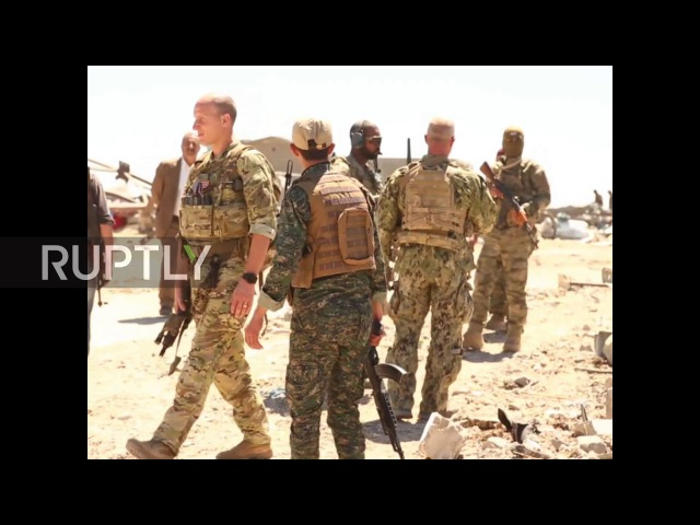 Syria: US troops visit site of Turkish airstrikes against Kurdish fighters