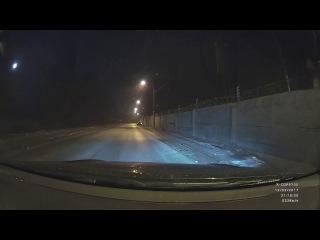 ДТП УАЗ занесло