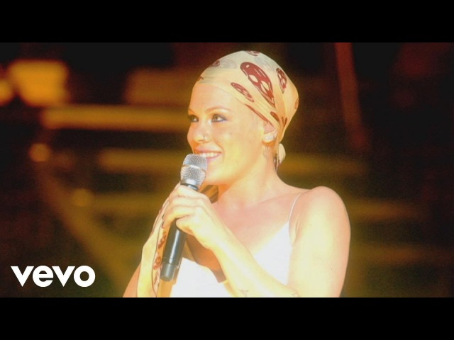 P nk What's Up from Live from Wembley Arena London England