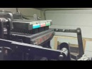 Jacquard card system on the Lyon lace loom