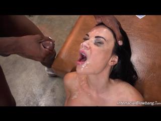 InterracialBlowbang Jasmine Jae (720p) Interracial, GangBang, Big Tits, Brunette, Cougars, MILF, Facial, BlowBang, Bukakke