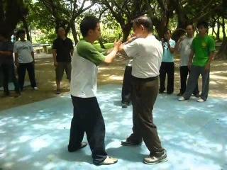 王傑老師Push Hands Grandmaster Wang Chieh_推手十三法