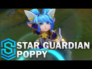 Star Guardian Poppy Skin Spotlight League of Legends