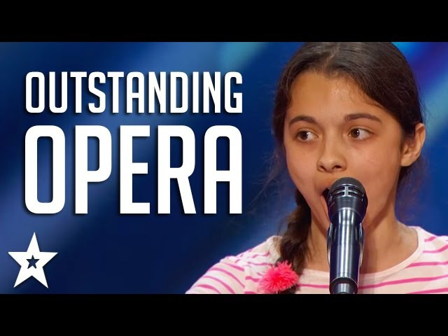 OUTSTANDING OPERA Acts on Got Talent | Including Laura Bretan, Susan Boyle More!