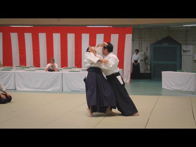 Aikido - Kobayashi Yukimitsu Shihan - 55th All Japan Aikido Demonstration 2017