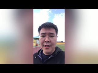 "Аким г. Атырау Серик Шапкенов приглашает на ""Atyrau marathon"""