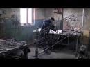 Изготовление кованых перил в Барнауле начало сборки