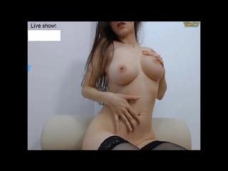 Шикарная девушка оргазмирует на камеру perfect girl orgasms uncontrollably (solo, masturbation, мастурбация, porno, порно, porn)