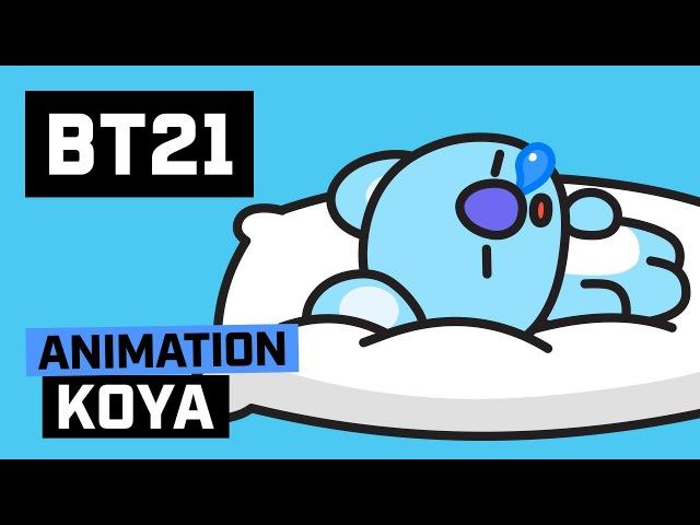 BT21 Hi~ I am KOYA