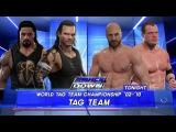 Jeff Hardy &amp Roman Reigns vs. Сesaro &amp Kane (World Tag Team Championship)