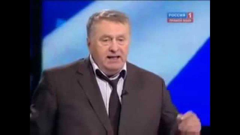 Жириновский не выдержал Вся правда о Путине Путин держит Русских людей за быдло